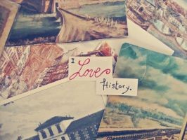 I Love History by ZiaBoris