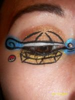 squirtle makeup by InkIsMyPassion