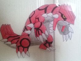 Groudon by Skyworld828