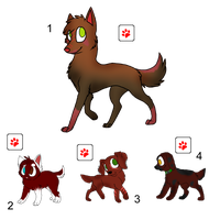 Red Dog Adopts - Gone by Feralx1