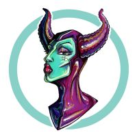 Maleficent by ThePea