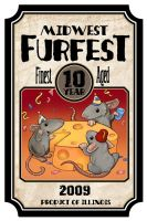 Midwest Furfest Design by ursulav