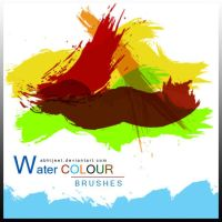 photoshop Water Colours brushes by brushfs