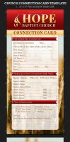 Church Connection Card Template by Godserv