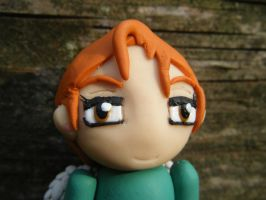Ingrid from Subsapien Polymer Clay Chibi (Close2) by LadyElasa