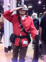 Anime Central 2014: Soldier by GoodDokCosplay