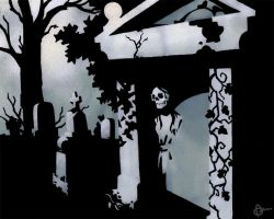 Graveyard by WonderDookie