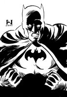 Batman by IanJMiller