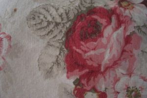 Rose Shabby Chic fabric by paintresseye
