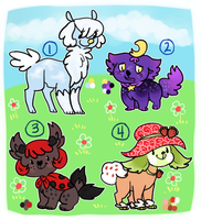 Adopts for sale Open by mellocat