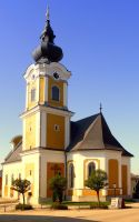 The village church of Sankt Johann am Wimberg by patrickjobst
