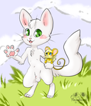 Me Chris the Kitty and Fidel-Having fun adventures by ChrisTheKitty