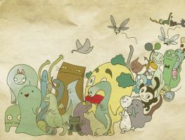 monster parade by Konstance