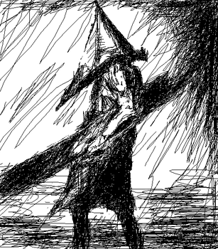 Pyramid Head by KyokiEclipse
