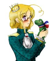 The Prince and The Frog by alessa00