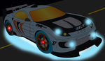 Drifting Saber 4.5 Type RX-S Front Digital by CarlostheBat36