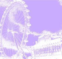 london eye pink by sp33dd3mon