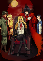 Collab: Hellsing Family by Yamineftis