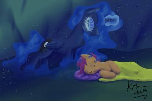 Sleep Soundly, Young One by TheAndyMac