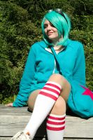 Ramona in Park by Angel-Platypus-Photo