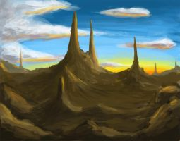 Speed Painting 2 by rickystinger88