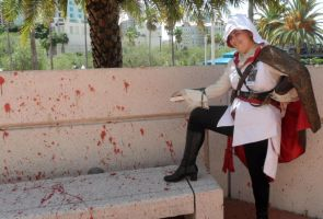 Metrocon 2012: Assassin's Creed - Crime Scene by Cynuyasha