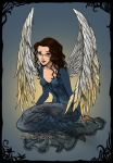 Nina as Angel by janianina