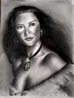 catherine zeta jones by Paioli