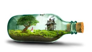 Life in a Bottle by swoboso
