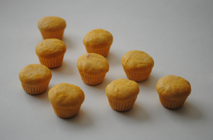 Miniature Cupcakes by ClayRunway