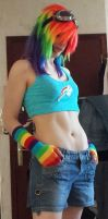 Rainbow Dash cosplay - update - 2 by Naelia12