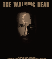 Vector : THE WALKING DEAD : Rick Grimes updated by midosamir89