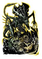 ALIEN Queen by Joao Vieria by AshcanAllstars