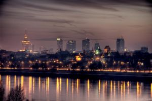 Warsaw Today and Yesterday by adamsik