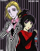 Beetlejuice and Lyds by Jumpix