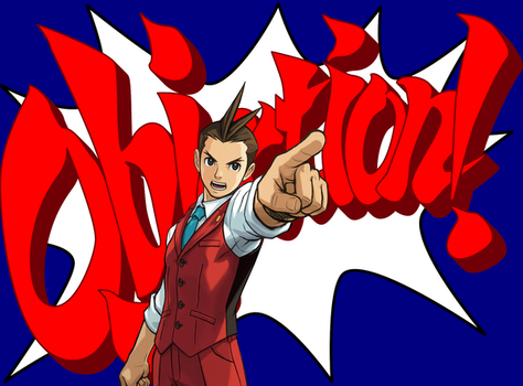 Apollo Justice objection by Fah-Sora