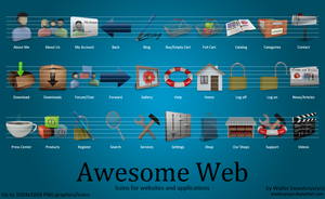 Awesome Web Icons by wwalczyszyn