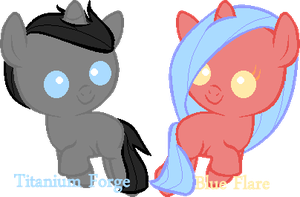 MLP Foals no. 10 by PhlegmaticBreedables