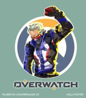[OVERWATCH] Soldier 76 by LaineKeith