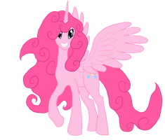 Pinkie Pie the alicorn by Meteorimpact