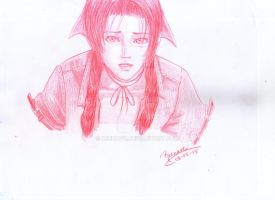 Aerith sketch by Reenave