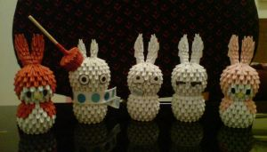 3D Bunny Group Pic by Spkmw