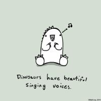 Dinosaur Facts - Singing by DeathByStraws