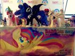 BABSCon table nightmare night by EquestriaPlush