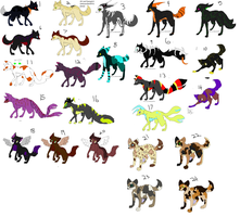 Adoptables MIX ::OPEN:: by Silhouett3s