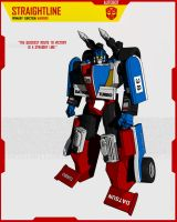 AUTOBOT STRAIGHTLINE by F-for-feasant-design