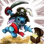 Pirate Stitch by Spilled-Sunlight