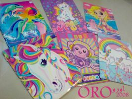 my lisa frank files by orjoowan-art