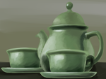 Tea Set by DoctorPiper