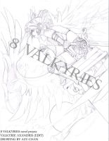 8 VALKYRIES - Axandris by FallenAngelGM